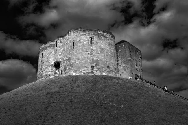 Robert  Gipson |  Clifford's Tower in York  historical building