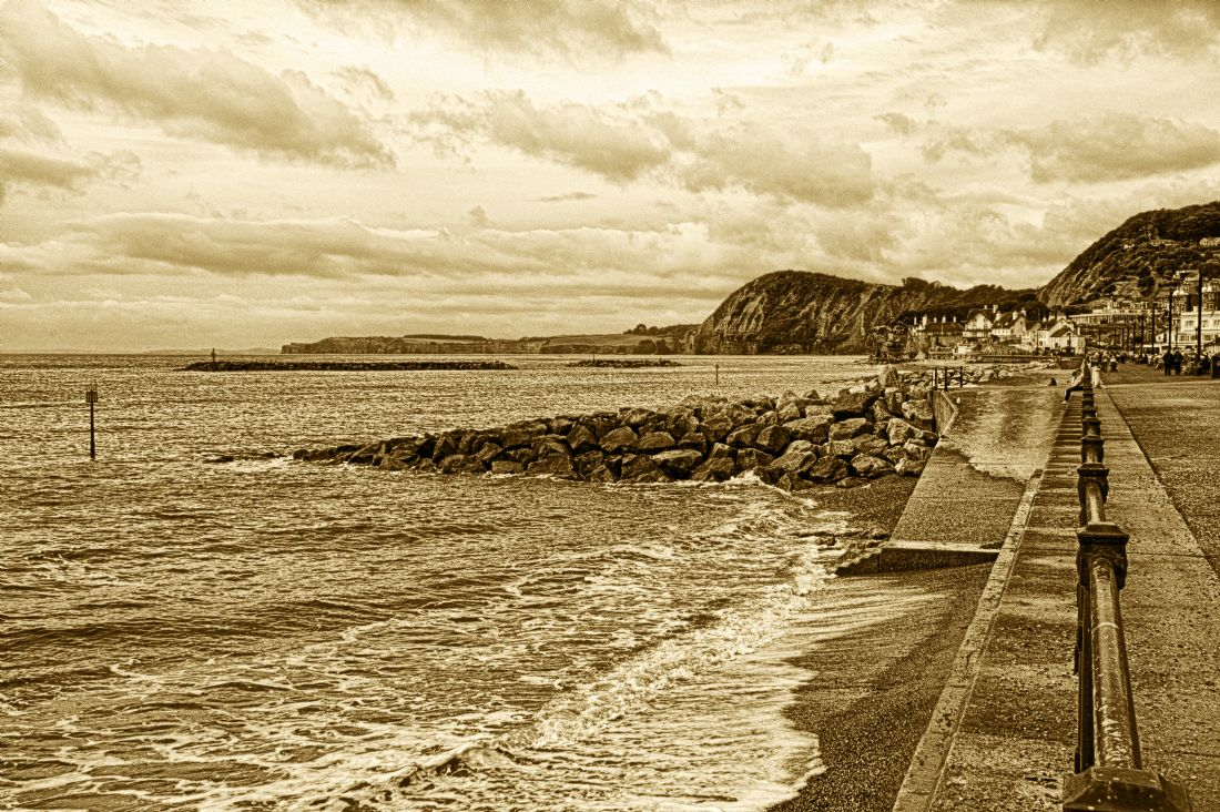 Chris Day | Sidmouth Beach and Esplanade