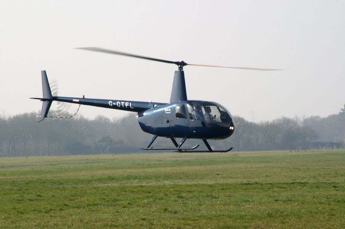 Chris Day | R44 Raven Helicopter