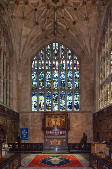 Chris Day | The Lady Chapel in Winchester Cathedral