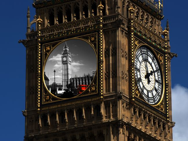 Chris Day | Big Ben collage