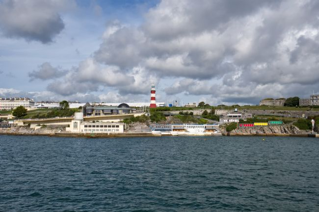Chris Day | Plymouth Hoe from the Sound