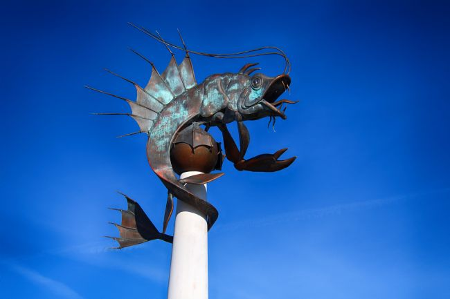 Chris Day | Barbican Prawn Sculpture