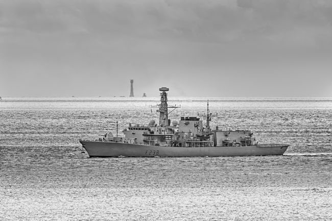 Chris Day | HMS Northumberland and the Eddystone Lighthouse