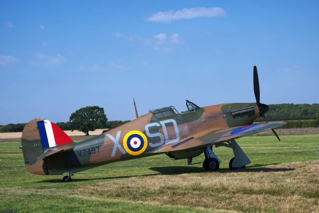Chris Day | Hawker Hurricane V7497