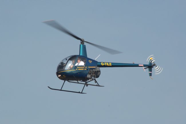 Chris Day | R22 Beta Helicopter