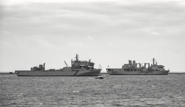 Chris Day | RFA Argus and RFA Fort Victoria