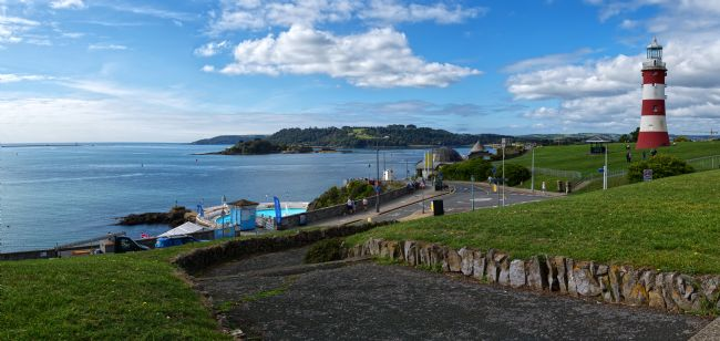 Chris Day | Plymouth Hoe and Sound Panorama