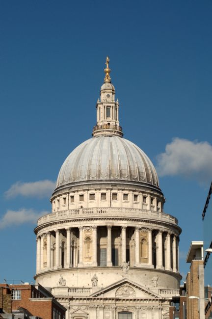 Chris Day | The Dome of St Pauls Cathedral from the South