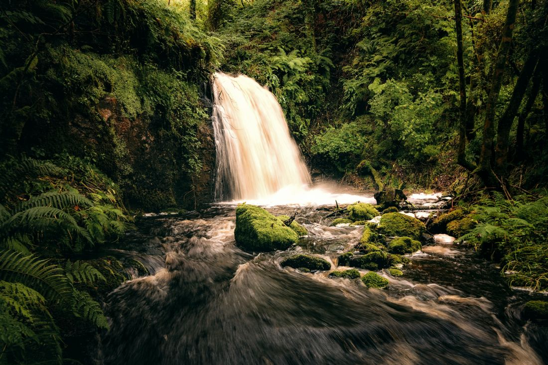 David Brookens | Full Spate at the Fairy Glen