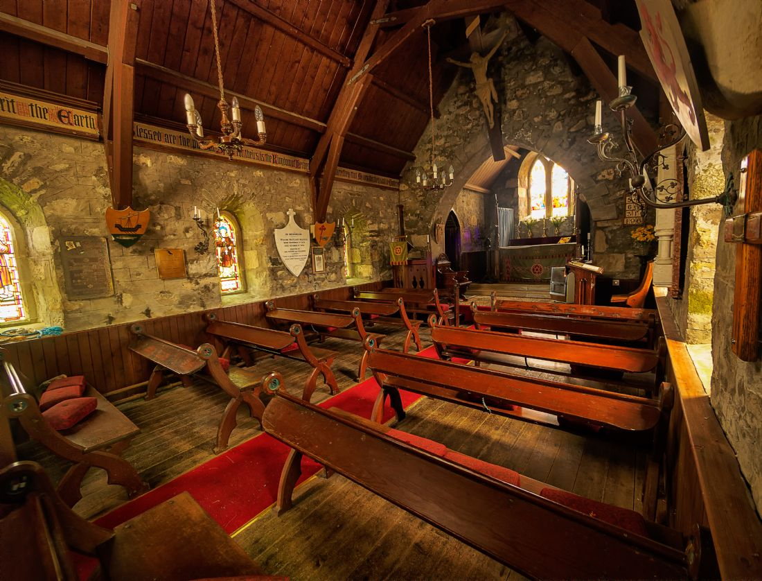 David Brookens | Inside St Kilda's Episcopal Church