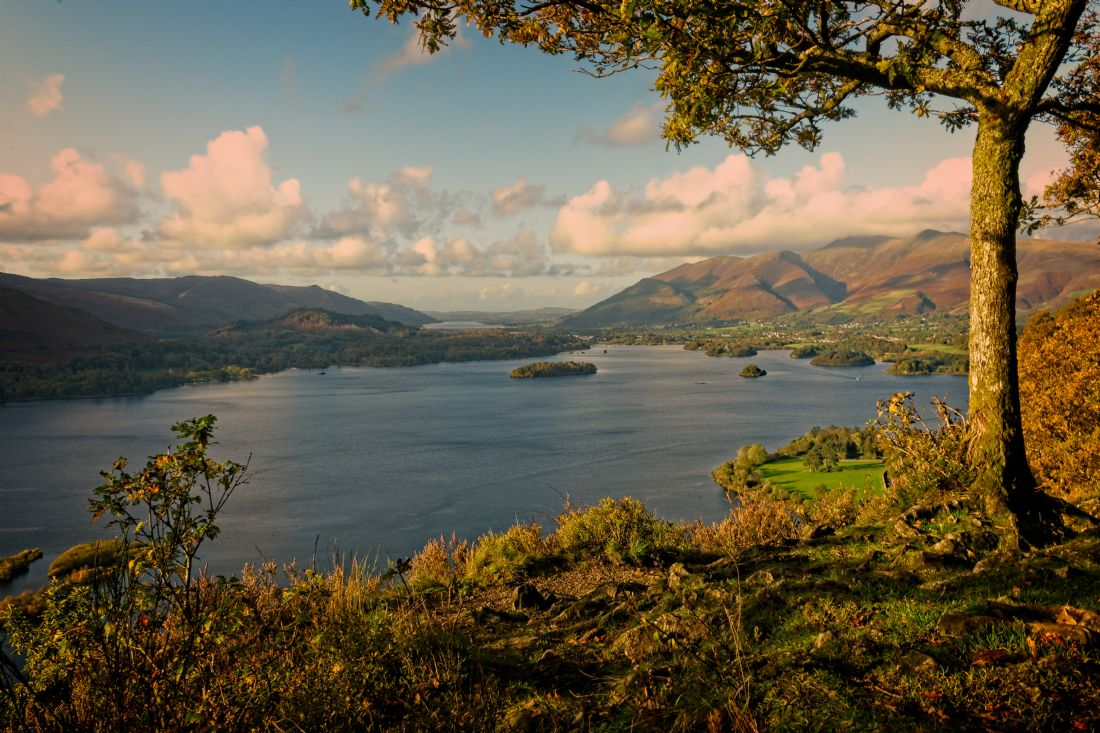 David Brookens | Evening Over Keswick and Skiddaw