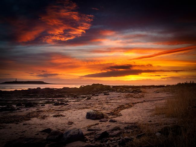 David Brookens | Sunset on Pladda