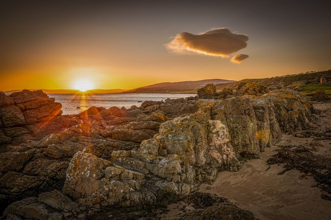 David Brookens | Sunset on Kintyre