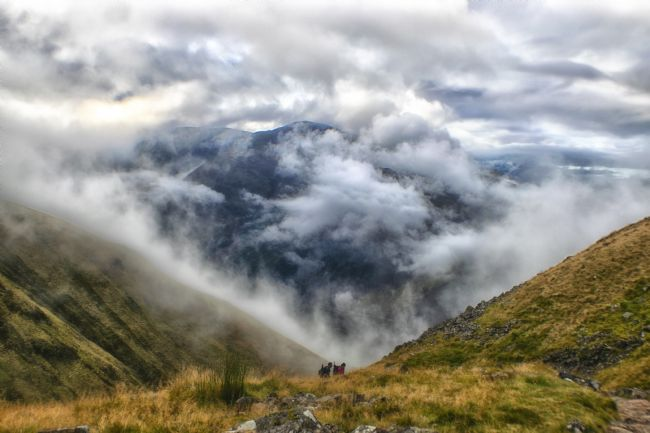 A Atkinson | View from Ben Nevis