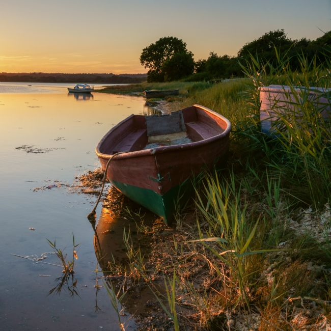 Phil Wareham | Boats at Sunset
