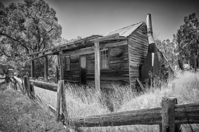 pauline tims | Old Miners Cottage at Costerfield, Victoria, Australia