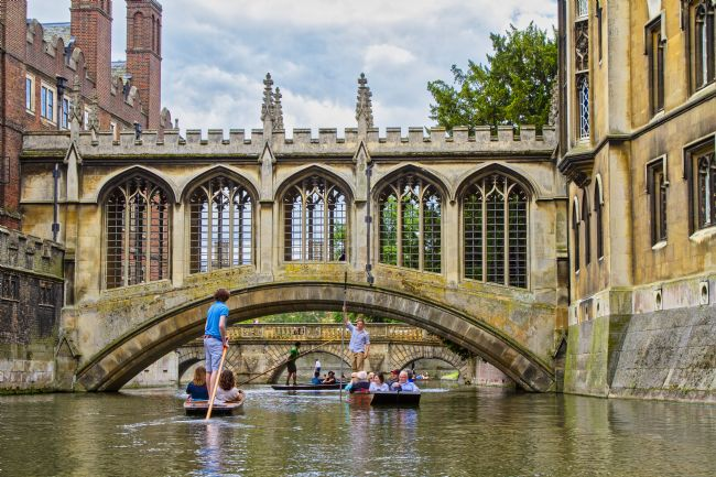 pauline tims | The Bridge of Sighs, Cambridge, UK
