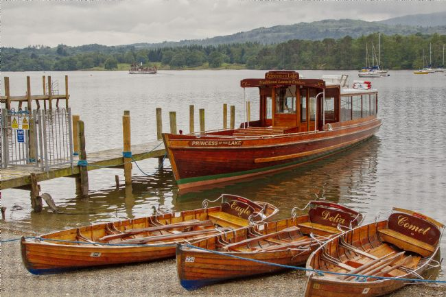 pauline tims | Princess of the Lake, Windermere