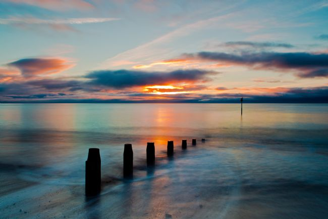 Tracey Yeo | Daybreak from Teignmouth Beach