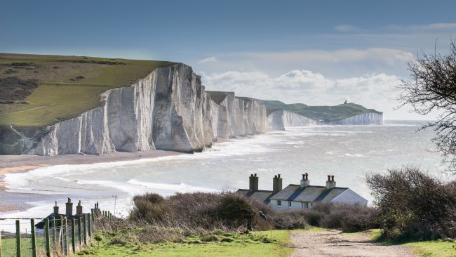 Nick Rowland | Seven Sisters and Coastguard Cottages at Cuckmere Haven