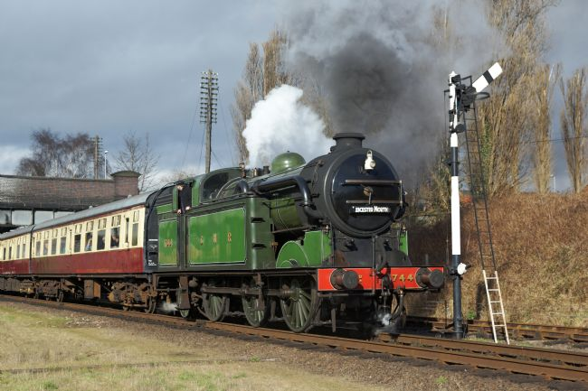 David Birchall | Preserved steam locomotive class N2, number 1744