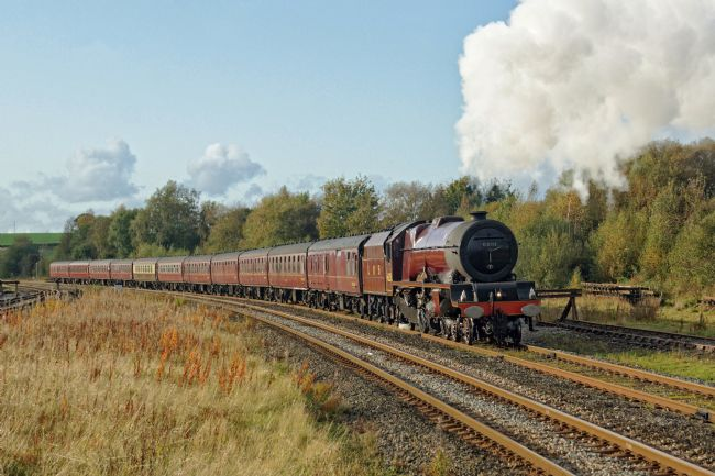 David Birchall | Steam locomotive 6201 Princess Elizabeth.