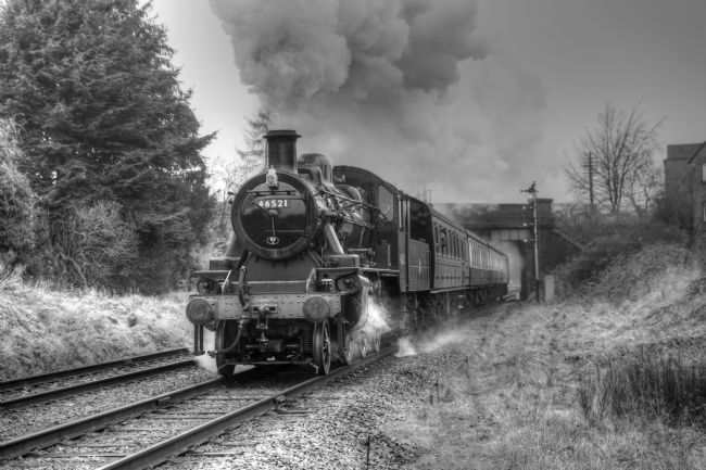 David Birchall | Preserved steam locomotive 46521