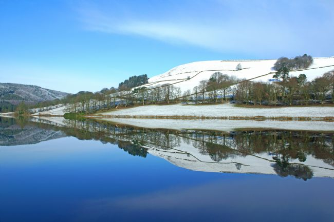 David Birchall | Ladybower Winter Reflections.