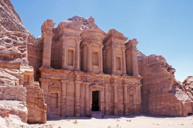 David Birchall | The High Temple (Ad Deir) at Petra