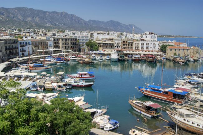 David Birchall | The Harbour at Kyrenia.