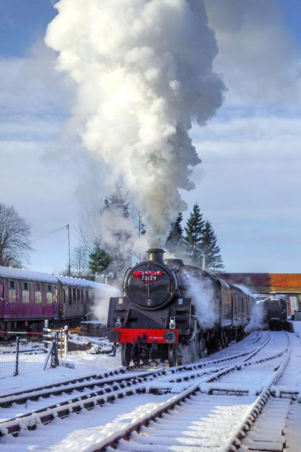 David Birchall | Snowy Day Departure