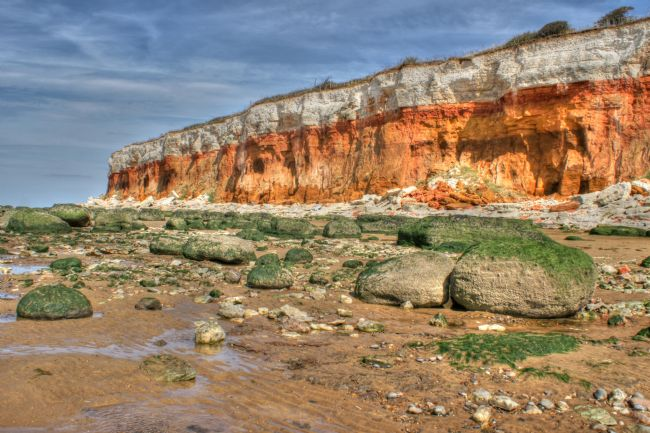 David Birchall | Cliffs at Hunstanton, Norfolk