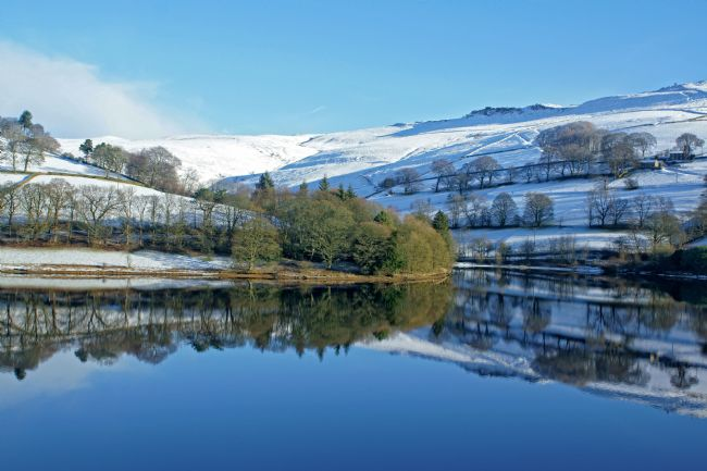 David Birchall | Winter reflections on Ladybower.