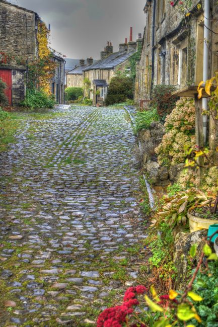David Birchall | Yorkshire Dales Cobbled Street