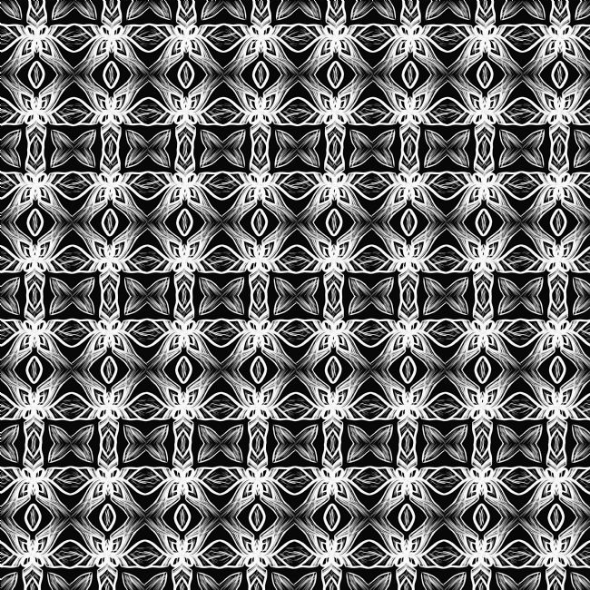 Kaye Menner | Pattern in Black and White