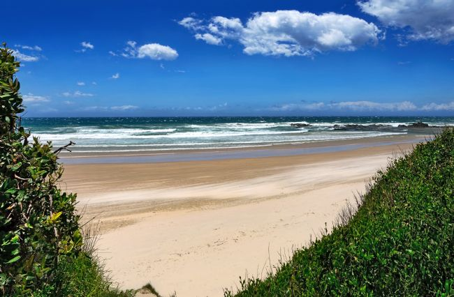 Kaye Menner | Windy Day Oxley Beach NSW Australia
