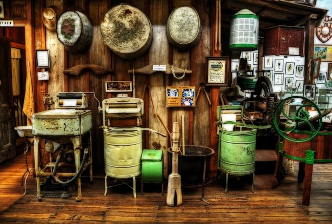 Kaye Menner | Washing Machines Of Yesteryear
