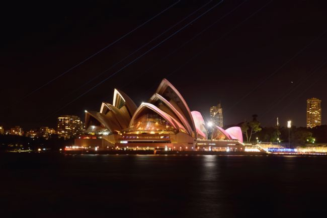 Kaye Menner | Northern View Sydney Opera House