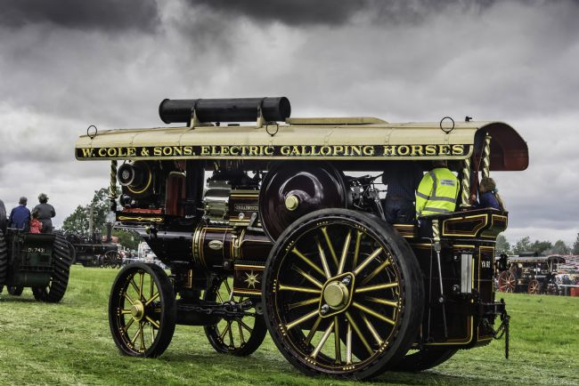 David Hollingworth | Steam Powered Tractors and Vintage Vehicles