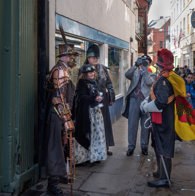 David Hollingworth | Steam Punks at Whitby