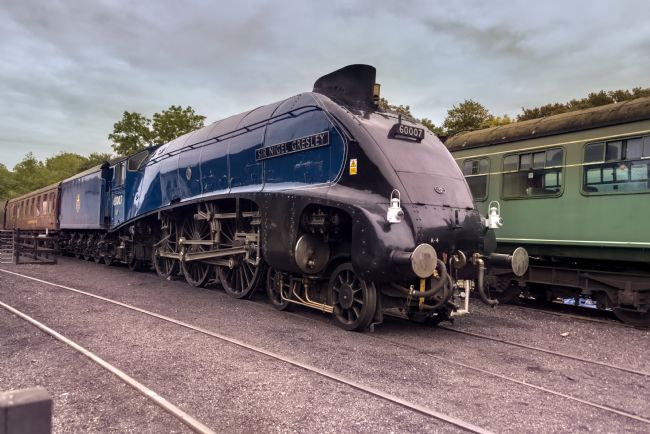 David Hollingworth | Sir Nigel Gresley