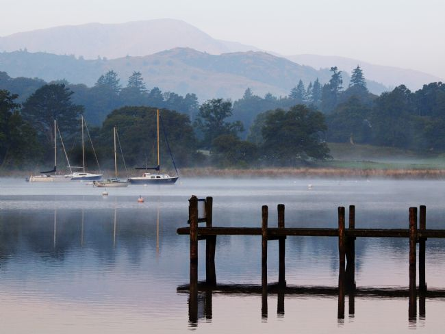 Susan Tinsley | Misty morning at Ambleside