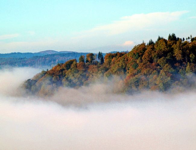 Susan Tinsley | Windermere cloud inversion