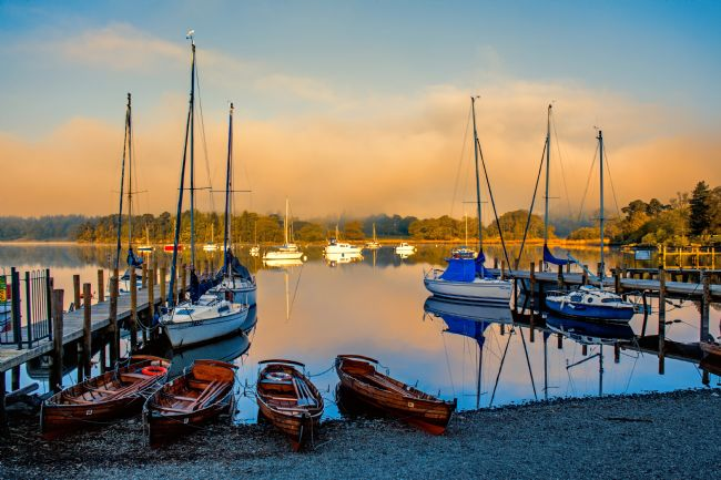 Susan Tinsley | Early morning at Waterhead