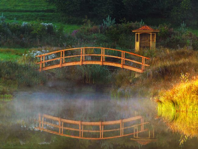 Susan Tinsley | Bridge in the mist