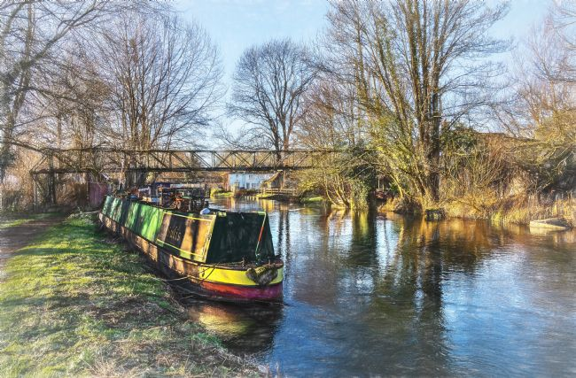 Ian Lewis | Winter On The Kennet and Avon
