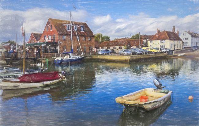 Ian Lewis | Boats At Emsworth Harbour