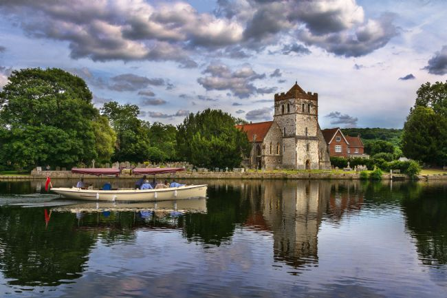 Ian Lewis | Boating At Bisham