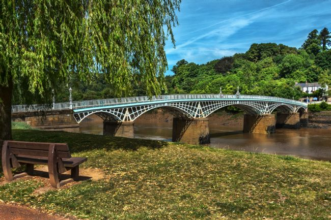 Ian Lewis | A Riverside Seat At Chepstow